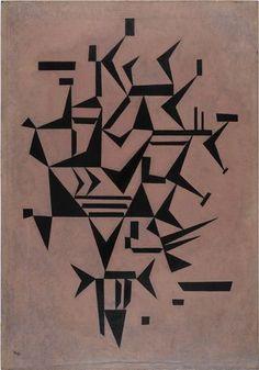 Wassily Kandinsky, Lightly Touching. 1931