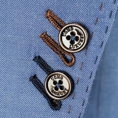 Button Details of a suit - Su Misura