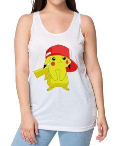 Pikachu, Pokemon, Animation, Cartoon, Tank Tops, Instagram Posts, Women, Fashion, Moda