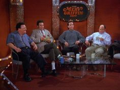 Seinfeld - The Merv Griffin Set: Newman, Kramer, Jerry & George