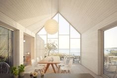 Interior at Värdshus. www.sommarnojen.se #interior #summerhouse #architecture