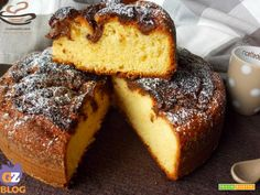 Torta allo yogurt e crema di nocciole  #ricette #food #recipes