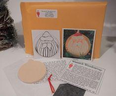 Buy kit and carve your own. Carved by Susan L Hendrix, Wasatch Woodcarver Blank Photo, Photo Pattern, Woodcarving, Diy Kits, Graphite, Paper Shopping Bag, Ribbon, Wall Decor, Brass