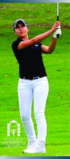 College prospects of America felicita a Ariadna Fonseca Diaz que se ha comprometido para asistir a University of Kansas. Si también quieres lograr la oportunidad de estudiar y competir en una universidad de los Estados Unidos INGRESA AQUI: www.cpoala.com #golf #becasdeportivas