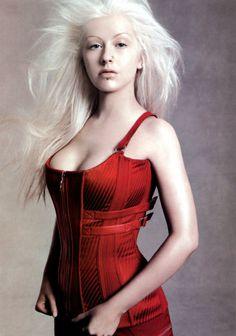 Christina Aguilera + Versace.