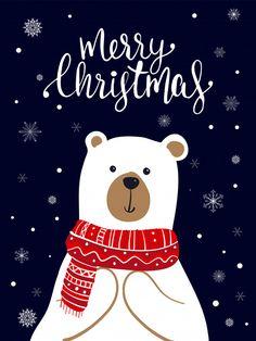 Happy Christmas Day, Noel Christmas, Handmade Christmas, Christmas Phone Wallpaper, Holiday Wallpaper, Wallpaper Natal, Folk Art Flowers, Christmas Drawing, Christmas Illustration