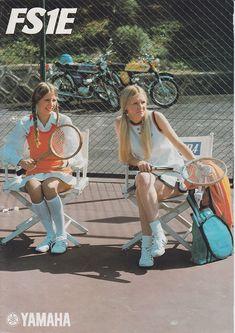 1975 Yamaha FS1 E Baja Brown Pinstripe 394 Brochure - click to zoom