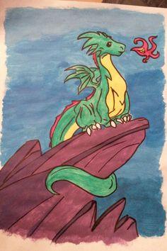 последний в мире дракон картинки дракона время представить себе
