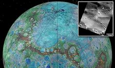 Mercury is SHRINKING: Stunning images reveal planet is still active