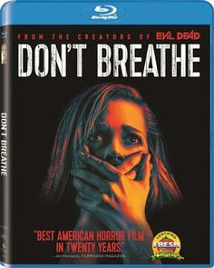 New DVDs and Blu-rays: Don't Breathe (Jane Levy, Dylan Minnette, Daniel Zovatto), Pete's Dragon (Bryce Dallas Howard, Robert Redford), and The BFG (Mark Rylance, Ruby Barnhill)