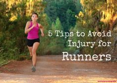 Runners, take a loot at these great tips for avoiding injuries!