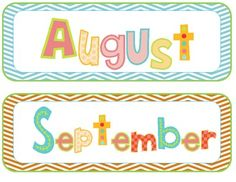 Calendar set includes month display and numbers for a generic calendar board.  ...