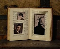 Genius Ways You've Never Thought To Decorate With Books What a great way to reuse old books. I'm gunna be on the lookout at yard salesWhat a great way to reuse old books. I'm gunna be on the lookout at yard sales Old Book Crafts, Book Page Crafts, Altered Books, Altered Art, Marco Diy, Cadre Photo Diy, Paper Art, Paper Crafts, Recycled Books