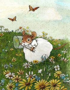 Show details for Little Social Butterfly Note Cards by Wee Forest Folk®