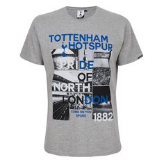 Spurs Mens Pride of North London T-shirt   Official Spurs Shop