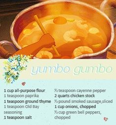 Little  Tianas gumbo recipe