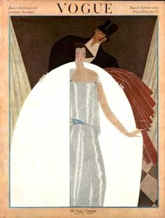 Georges Lepape, Vogue, March 1922. by Gatochy, via Flickr