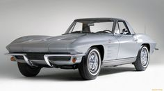 1963 Chevrolet Corvette Sting Ray supercar classic muscle cars wallpaper background