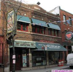 "My favorite restaurant from my youth: The New Parthenon Restaurant, Greektown, Detroit.  Can anyone say ""Taramosalata!""?!!?"