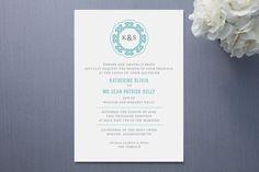 @Megan Peterson - Modern Celtic Knot Wedding Invitations by Karen Gl... at Minted.com