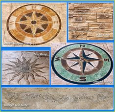 Stamped Concrete Patio Design Patterns-Photo samples by BIONDO ...