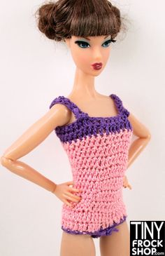 Barbie Crochet Bodysuit