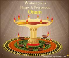 Dgreetings - Onam Card