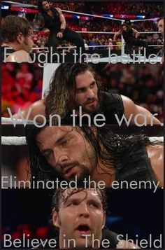 That's how they roll! #BelieveInTheShield :D