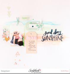 """Scrap Sweet Scrap: Good Day Sunshine mit der MME Kollektion """"on trend"""""""