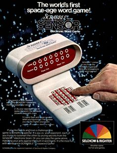 The World's First Space-Age Word Game!