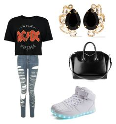 """""""Untitled #86"""" by desireelovesfashion on Polyvore featuring Topshop, Boohoo, Givenchy and Bounkit"""