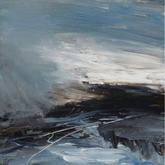 poboh: Coast Lines II, Erin Ward. English Painter.