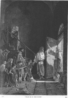Alexandre Bida - Illustrations of the Life of Christ-Peace be to this house