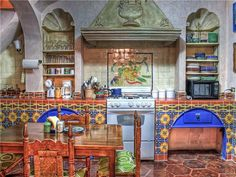 Would tone it down a notch for sure, but...... old world decor | Old world spanish decor