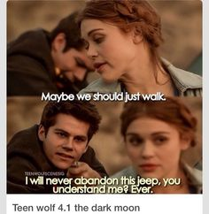 Teen Wolf - Lydia and Stiles