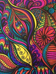 ColorIt Adult Coloring Book- Calming Doodles Volume I