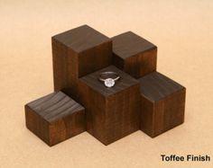 Ring Display Riser / Mini Wooden Riser / Figurine Display /