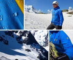 Kieran Creevy tests out the award winning Seraction Jacket from Mountain Hardwear.