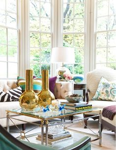 Elegant Chic Living Room Design