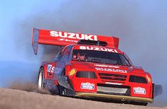 Suzuki Escudo Pikes Peak race car....