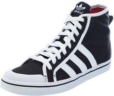 adidas Womens Honey Stripe Hi-Top Shoes