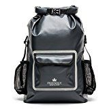 Dry Bag Backpack 33L with Laptop Pocket, Roll Top Seal Sports Bag, Ergonomic Hiking Backpack Rucksack - of Waterproof Heavy Duty 500D PVC - by The Friendly Swede