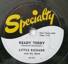 Ready Teddy,  Little Richard, Specialty