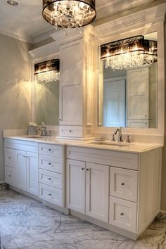 32 Best ideas for bath room lighting design master bedrooms Bathroom Remodel Shower, Bathroom Wallpaper, Bathroom Remodel Master, Master Bathroom Decor, Bathroom Makeover, Master Bathroom Renovation, Bathroom Vanity Remodel, Bathroom Redo, Bathroom Inspiration