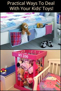 Six Practical Ways to Deal With Your Kids' Toys!