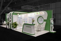 A custom #booth that makes the most of every inch - By Exponents for General Non Woven @ Idea, Boston #eventprofs #tradeshows