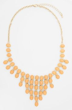 Such a statement necklace (only $24)!