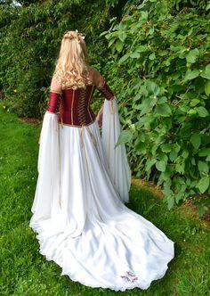 Clarissa a Medieval Elvish Renaissance Inspired  by frockfollies, $1,171.00
