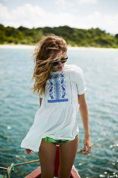 beach wear.