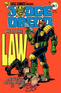 Judge Dredd Colored by *angryrooster on deviantART
